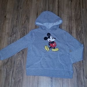 Disney Mickey Mouse Hoodie small 6/7 like new